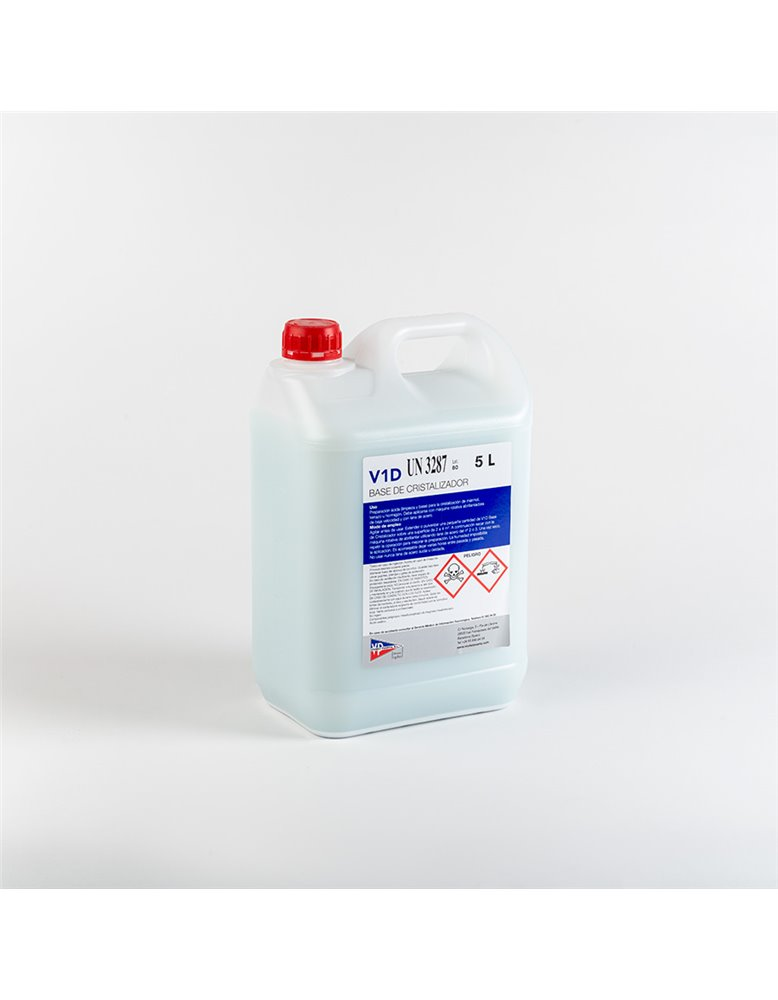 V1D Base de Cristalizador, envase 2L