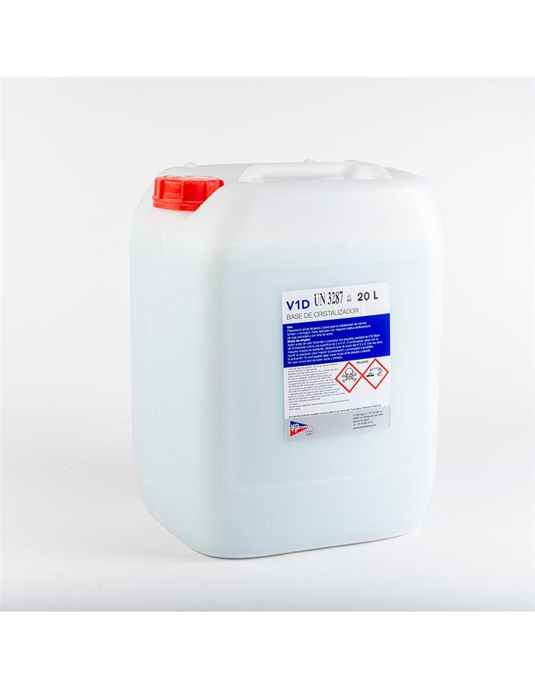 V1D Base de Cristalizador, envase 20L