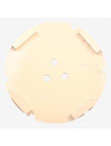 Corona sat dte 150 mm 4 SEG FW-16 blanco