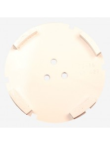 Corona sat dte 150 mm 4 SEG TS-16 blanco