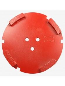 Corona sat dte 150 mm 4 SEG TS-45 rojo