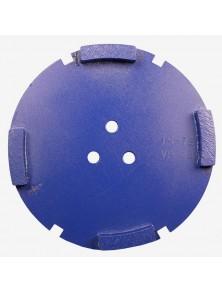 Corona sat dte 150 mm 4 SEG TS-75 azul