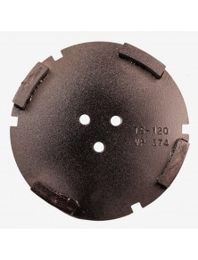 Corona sat dte 150 mm 4 SEG TS-120 negro