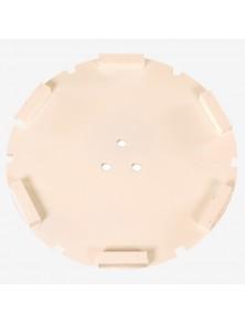 Corona sat dte 200 mm 6 SEG FW-16 blanco
