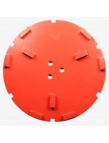 Corona sat dte 200 mm 9 SEG FW-45 rojo