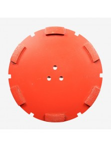 Corona sat dte 200 mm 6 SEG HSA-45 rojo