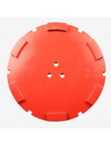Corona satétite diamante 200 mm 6 SEG PB-40 rojo