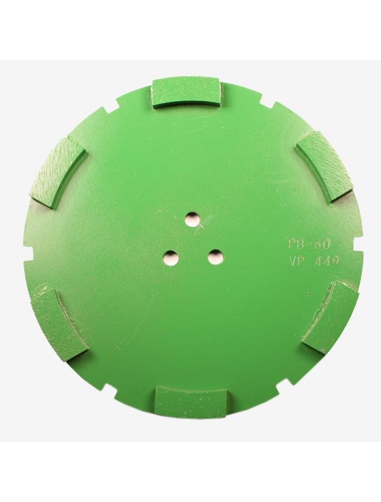 Corona sat dte 200 mm 6 SEG PB-60 verde