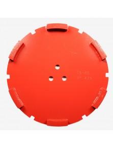 Corona sat dte 200 mm 6 SEG TS-45 rojo