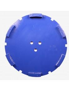 Corona sat dte 200 mm 6 SEG TS-75 azul