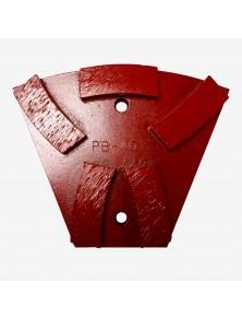 Segmento diamantado metálico PB-40 Rojo
