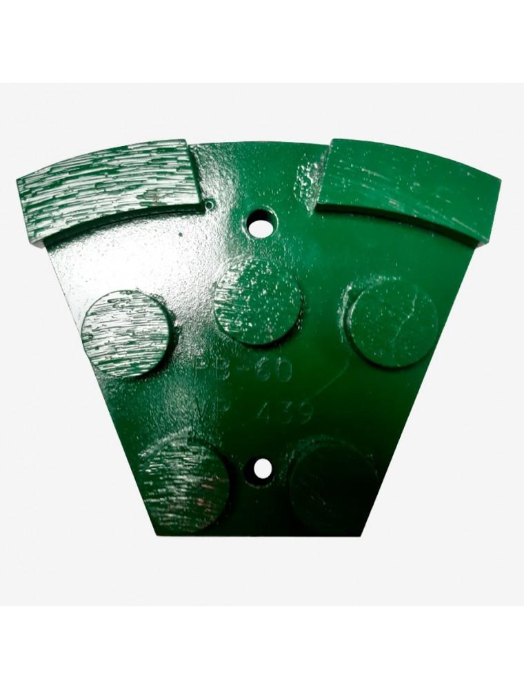 Segmento diamantado metálico PB-60 verde