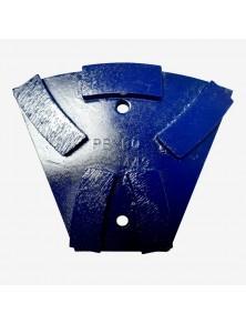 Segmento diamantado metálico PB-80 azul