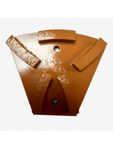 Segmento diamantado metálico TS-30 marrón