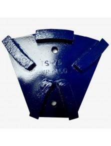 Segmento diamantado metálico TS-75 azul